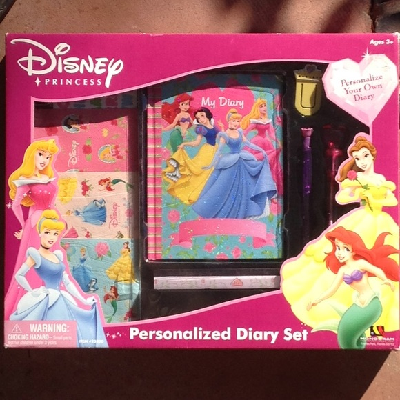 Personalized Diary set